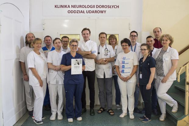 Zespół Oddziału Udarowego Kliniki Neurologii Dorosłych UCK