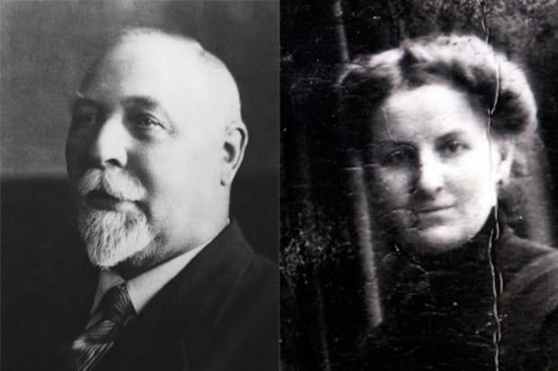 Michał i Balbina Bellwonowie.