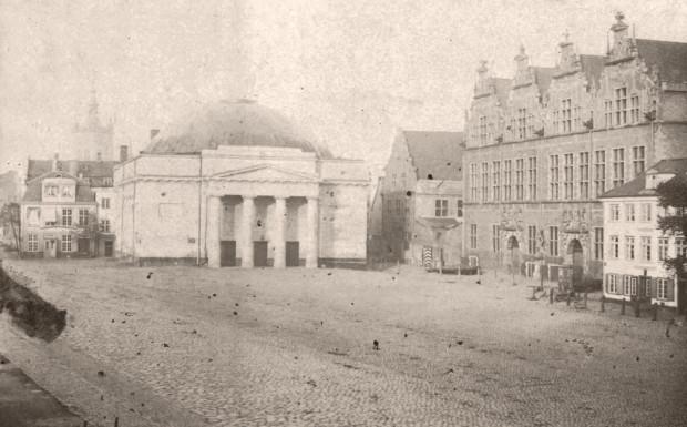 Teatr miejski w 1853 roku.