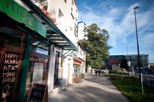 Cafe Alegoria to doskonałe miejsce na spędzenie popołudnia w Górnym Wrzeszczu.