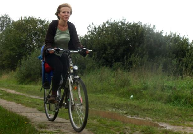 Trasa jest na tyle łatwa, że pokonać ja można nawet rowerem miejskim.