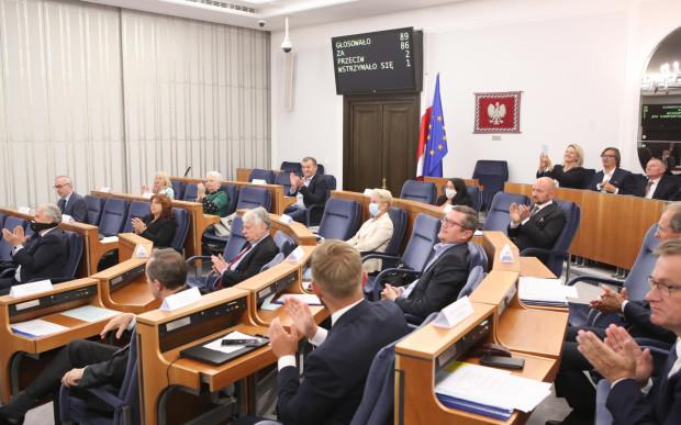 Na ostatnim posiedzeniu Senatu za ustawą metropolitalną dla Pomorza głosowała większość senatorów.