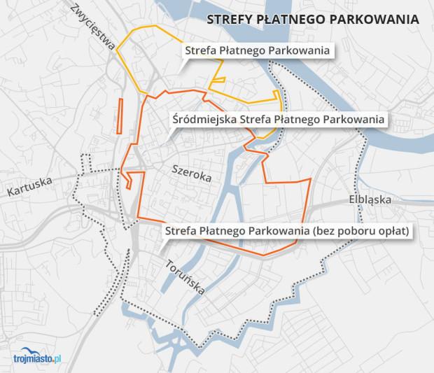 Śródmiejska Strefa Płatnego Parkowania obowiązuje w Gdańsku od 29 czerwca.