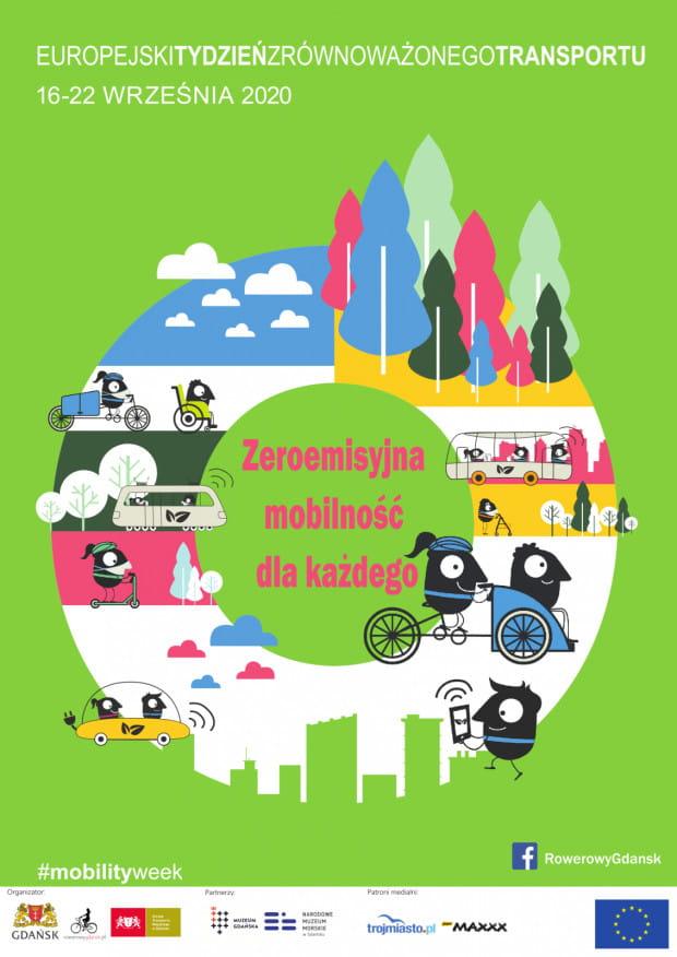 Plakat promujący tegoroczną edycję ETZT w Gdańsku.