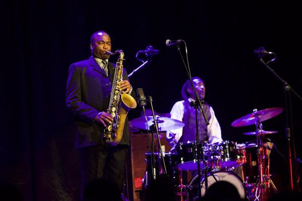 23. Festiwal Jazz Jantar pierwotnie miał odbyć się w marcu. Na zdjęciu: James Carter Organ Trio podczas 17 edycji imprezy.