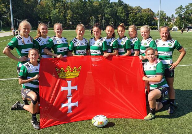 Biało-Zielone Ladies Gdańsk - triumfatorki pierwszego turnieju o mistrzostwo Polski w sezonie 2020/21 w rugby kobiet.