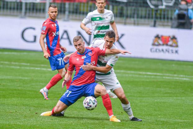 """Bartosz Kopacz (na zdjęciu) jest jedynym nowym piłkarzem w """"11"""" Lechii Gdańsk, ale i on nie został wytransferowany latem, a kontrakt podpisał już zimą."""
