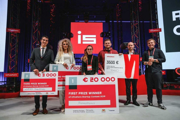 Stałym elementem konferencji jest konkurs Infoshare Startup Contest. Do tej edycji napłynęło aż 677 zgłoszeń z 50 krajów.