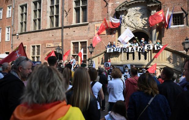 Wiec odbędzie się na przedprożach Ratusza Głównego Miasta w Gdańsku.