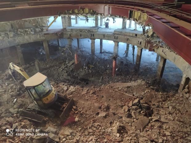 Przebudowa gmachu głównego Teatru Wybrzeże potrwa do końca lipca 2022 roku.