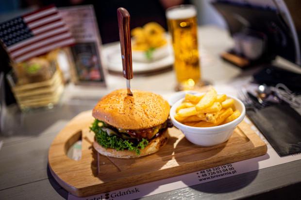 Przez cały tydzień w gdańskiej Brovarni można zjeść specjały kuchni amerykańskiej.