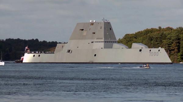 Amerykański niszczyciel rakietowy USS Zumwalt (DDG-1000)