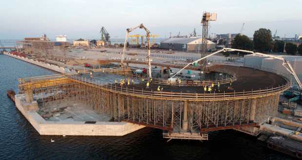 Nowy terminal umożliwi przyjmowanie promów o długości do 240 m oraz skróci czas związany z zawinięciem statku do portu.