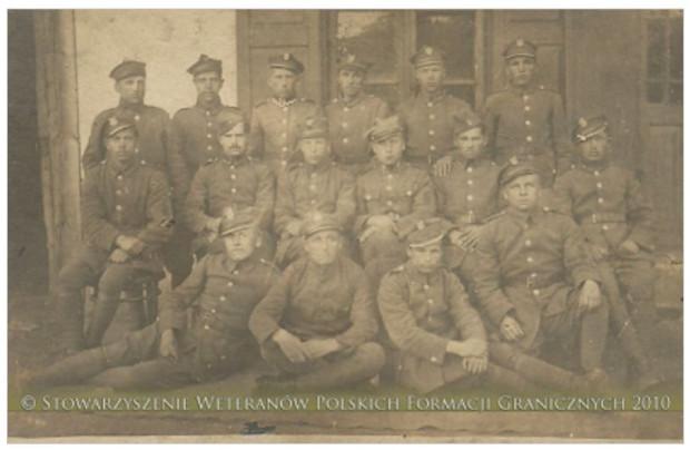Żołnierze Baonu Celnego