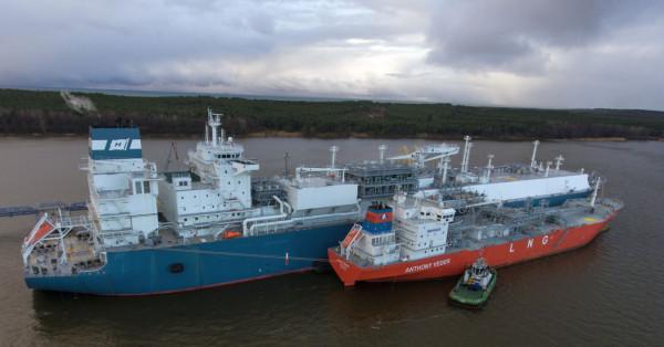 Od 2015 roku pływający terminal LNG działa w litewskim porcie Kłajpeda.