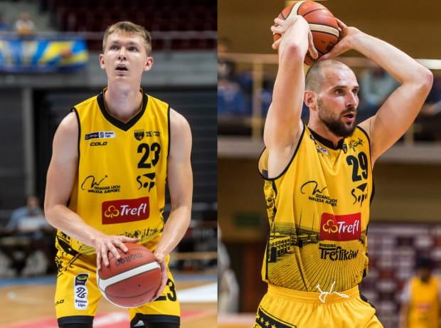 Michał Kolenda (z lewej) i Paweł Leończyk (z prawej) przyznają, że od początku sezonu w Energa Basket Lidze nie brakuje niespodzianek.