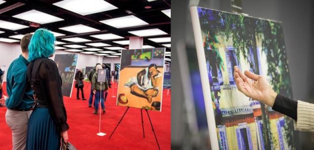 Organizator targów zachęca również do udziału w wystawie malarstwa 3D.