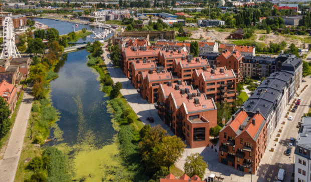 Na oddanym do użytku w tym roku osiedlu Riverview nie można wynajmować mieszkań na krótki termin.