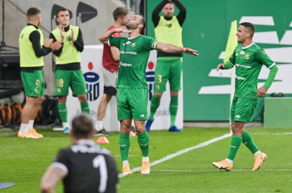 Flavio Paixao strzelił dwa gole dla Lechii Gdańsk