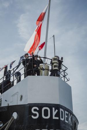 """Statek-muzeum """"Sołdek"""""""