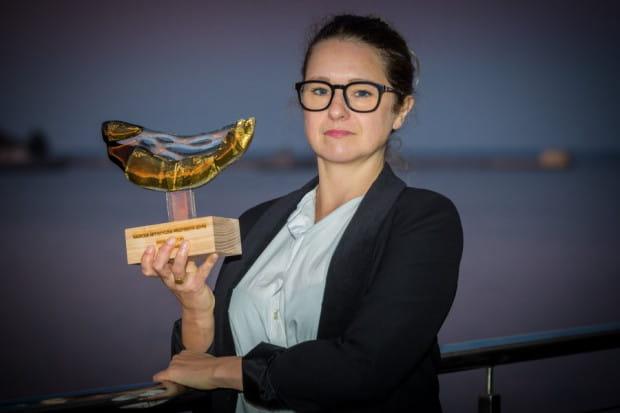 Diana Lenart, laureatka w kategorii Animacja Kultury