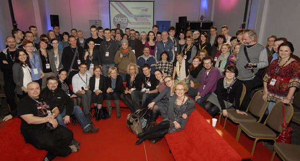Uczestnicy zeszłorocznego Blog Forum Gdańsk. Tegoroczna edycja odbędzie się w dniach  15-16 października.
