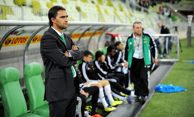 Czy trener Kafarski dostrzega lepszą przyszłość dla Lechii? Jeśli tak, to od kiedy?