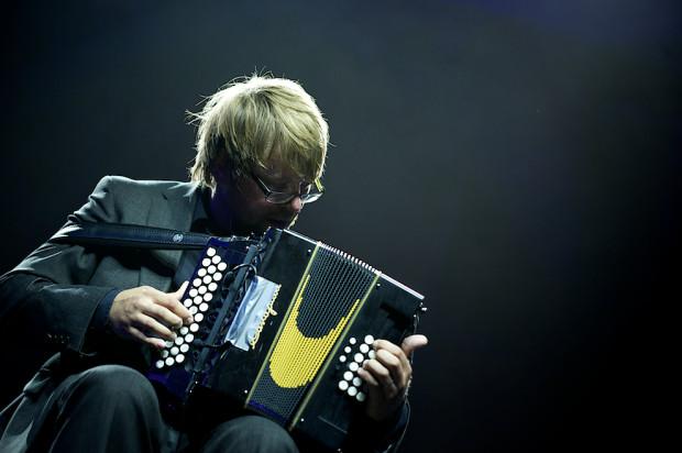 Tegoroczny Festiwal Dźwięki Północy został przełożony z lipca na początek października. Na zdjęciu: Antti Paalanen podczas 28. edycji imprezy.