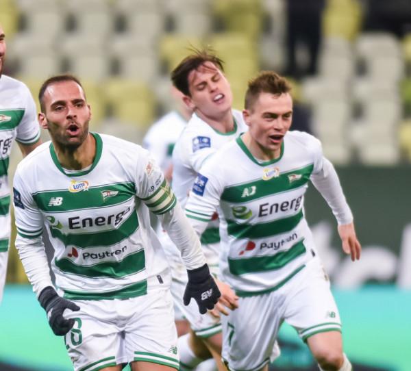 Flavio Paixao, Conrado i Maciej Gajos strzelili po 2 gole w grze wewnętrznej Lechii Gdańsk, w której padło aż 10 bramek.