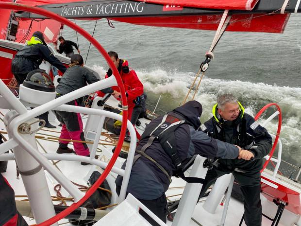 Sailing Poland na trasie 69. Błękinej Wstęgi Zatoki Gdańskiej.