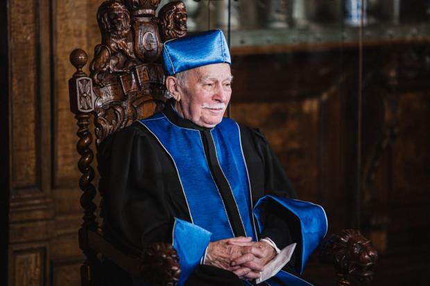Prof. Stefan Angielski, doktor honoris causa UG