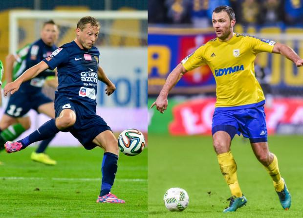 Rafał Murawski (z lewej) i Krzysztof Sobieraj (z prawej) znów mieli wybiec na boisko, ale ostatecznie zagrał tylko ten pierwszy. W IV rundzie Pucharu Polski na szczeblu wojewódzkim, Nadmorska Liga Szóstek pokonała Sopocką Akademię Piłkarską 2:1.