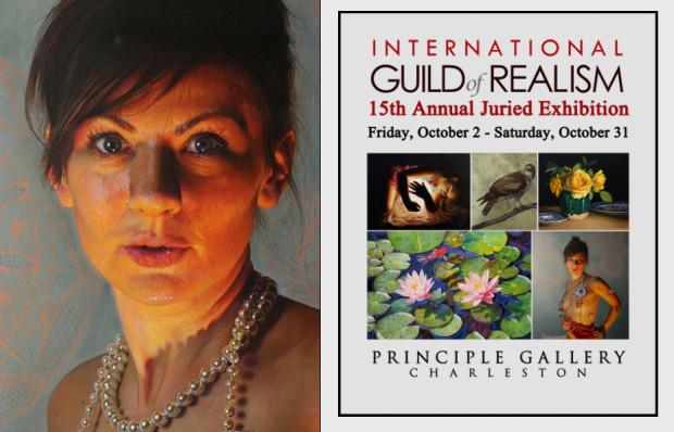 Prace Gdynianki znalazły się wśród 111 obrazów od 107 artystów na dorocznej wystawie organizowanej przez Międzynarodową Gildię Realizmu w Galerii Zasadniczej w Charleston w Karolinie Południowej.
