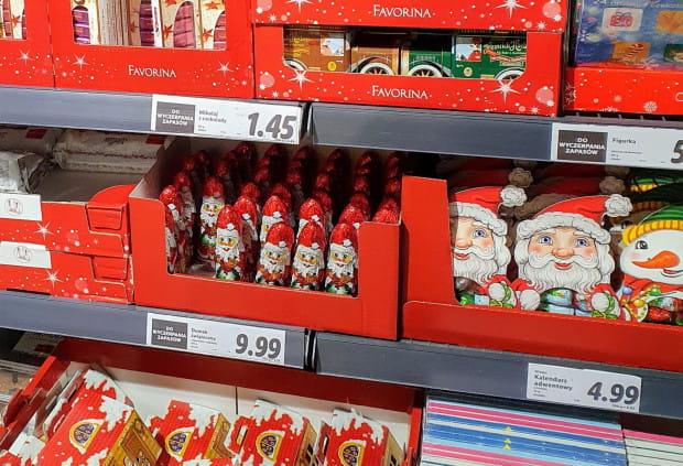 Świąteczne produkty pojawiły się już w sklepach sieci handlowej Lidl.