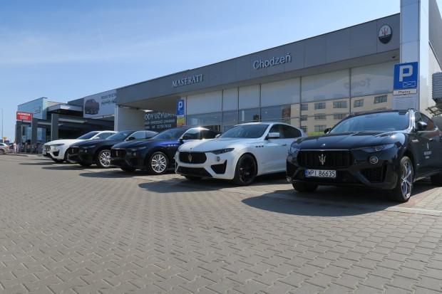 Salon Maserati Chodzeń w Piasecznie. W przyszłości obiekt tej marki stanie także w Trójmieście.