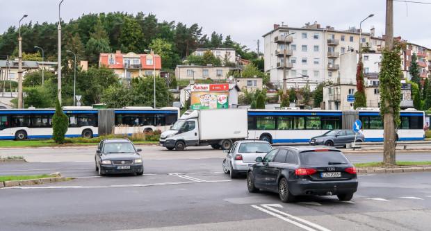 Skrzyżowanie ulic Spokojna i Wielkopolska. Zdaniem wielu mieszkańców to najniebezpieczniejsza krzyżówka w ciągu ul. Wielkopolskiej.