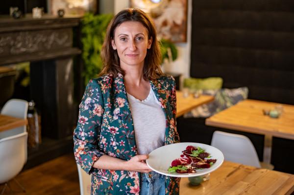 Właścicielka restauracji Botanica - Justyna Skwiercz.