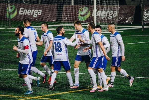 Bałtyk Gdynia zanotował siódme zwycięstwo w tym sezonie III ligi.