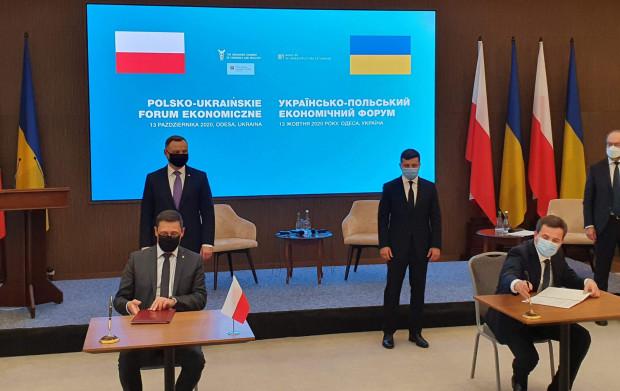 W Odessie rozpoczęło się ukraińsko-polskie forum transportowo-logistyczne.