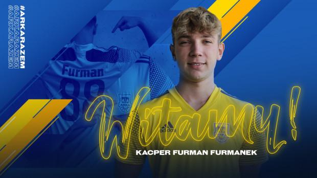 """Kacper """"Furmanek"""" Furman nowym graczem Arki Gdynia eSports."""