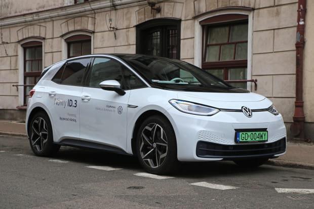 Elektryczny Volkswagen ID.3.
