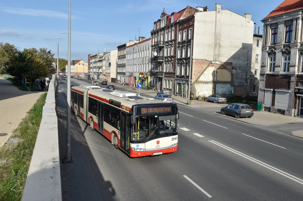 Od soboty autobusy linii 210 nie pojadą już na Orunię, lecz tylko do Dworca Głównego.