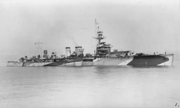 """Zanim ORP Conrad trafił pod polską banderę (pływał pod nią od października 1944 do września 1946), służył jako """"okręt jej królewskiej mości"""" HMS Danae."""