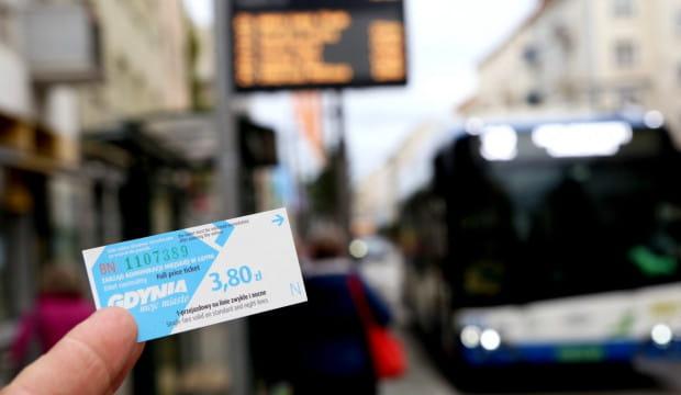 W Gdyni od soboty nie będzie można kupić biletów u kierowców komunikacji miejskiej.