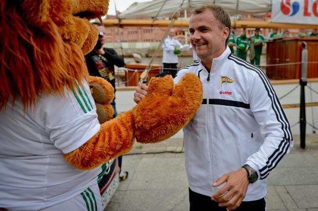 Maciej Kalkowski w sztabie Lechii Gdańsk - zdjęcia z ubiegłych sezonów.