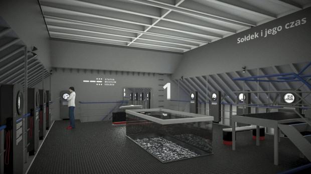 Tak ma wyglądać nowa wystawa stała na Sołdku.