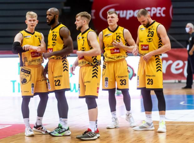 """""""5"""" Trefla Sopot jest ustawiona najwyżej w klasyfikacji efektywnej gry w EBL."""