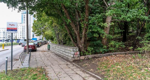 Teren pod park kieszonkowy przy ulicy Legionów w Gdyni Redłowie niebawem zacznie się zmieniać.