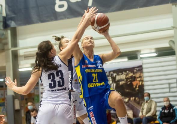 Cztery mecze, cztery pewne zwycięstwa, cztery double-double Laury Miskiniene (nr 21). Tak prezentuje się VBW Arka Gdynia w obecnych rozgrywkach Energa Basket Ligi Kobiet.