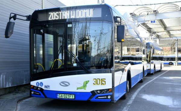 ZKM Gdynia zabezpieczył tylko na dziś 18 pojazdów rezerwowych.
